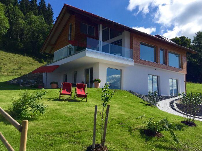 ferienwohnung premium ferienhaus im sonnenfleckerl 87629 hopfen. Black Bedroom Furniture Sets. Home Design Ideas